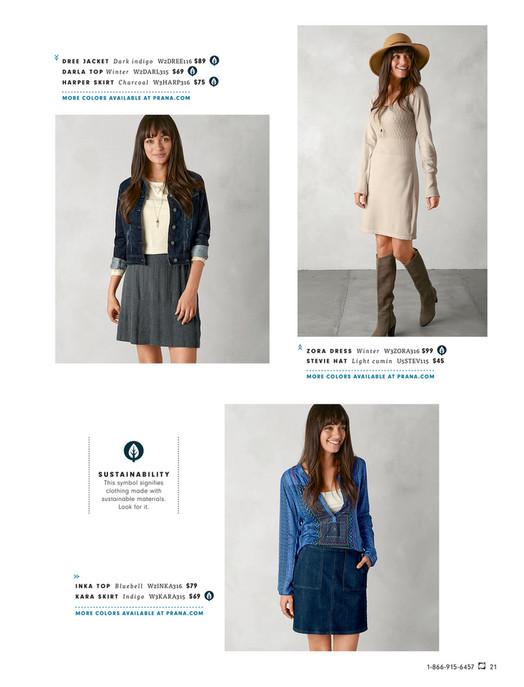 579ffe11e prAna - Fall Fashion 2016: Catalog 1 - Explore in Style | prAna ...