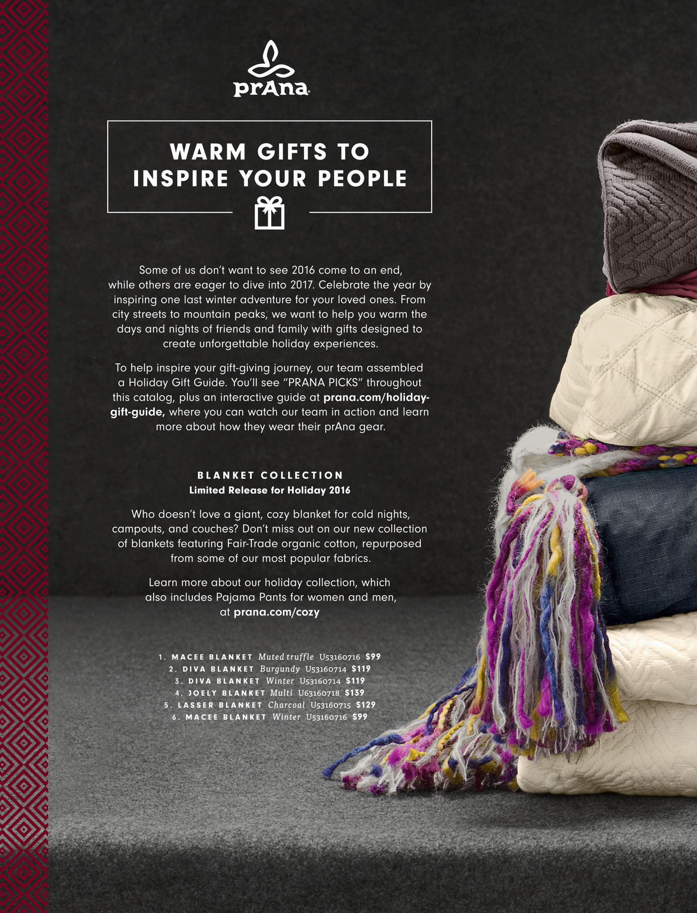 Most Popular Gifts For Women 2016 Part - 38: PrAna - Fall Fashion 2016: Catalog 5 - Warm Gifts For Good People - Page 2-3